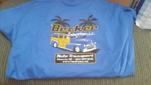 MAS Screen Printing t-shirt project for client, Peoria, Arizona